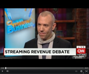 Blake Morgan - Taylor Swift and Spotify - CNN Quest Means Business 2014 - ECR Music Group