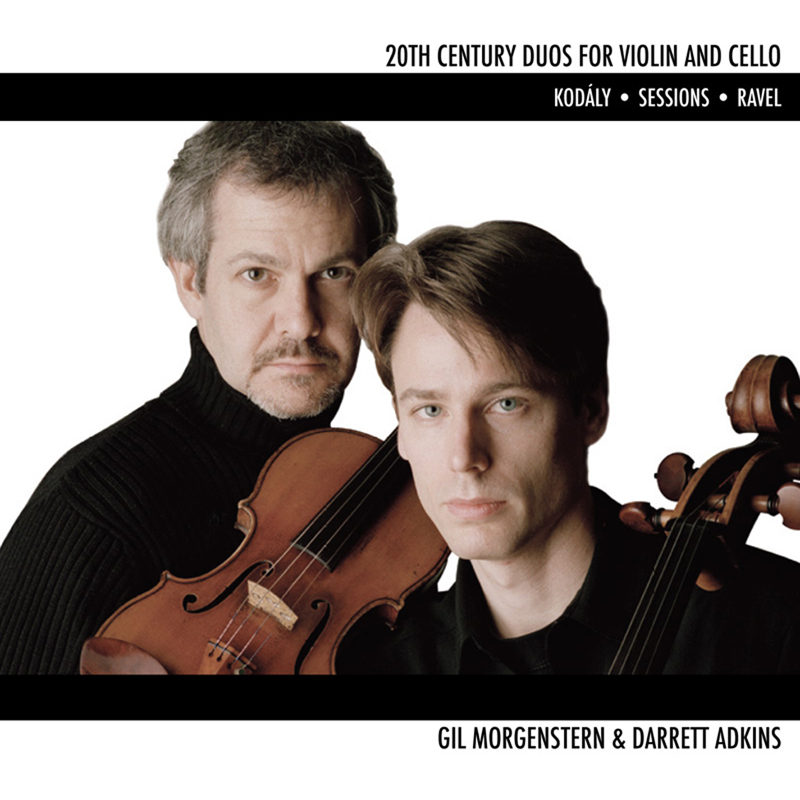 Gil Morgenstern and Darrett Adkins - 20th Century Duos for Violin and Cello - ECR Music Group