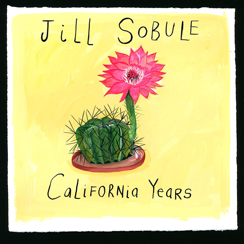 Jill Sobule - California Years Album Cover - ECR Music Group NYC