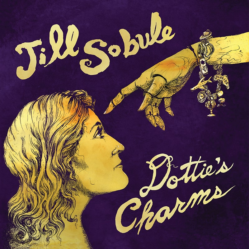 Jill Sobule - Dottie's Charms Album Cover - ECR Music Group, NYC