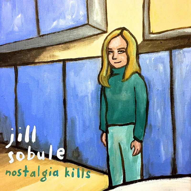 Jill Sobule - Nostalgia Kills Album Cover - ECR Music Group, NYC