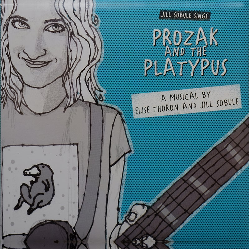 Jill Sobule - Prozak and the Platypus Album Cover - ECR Music Group, NYC