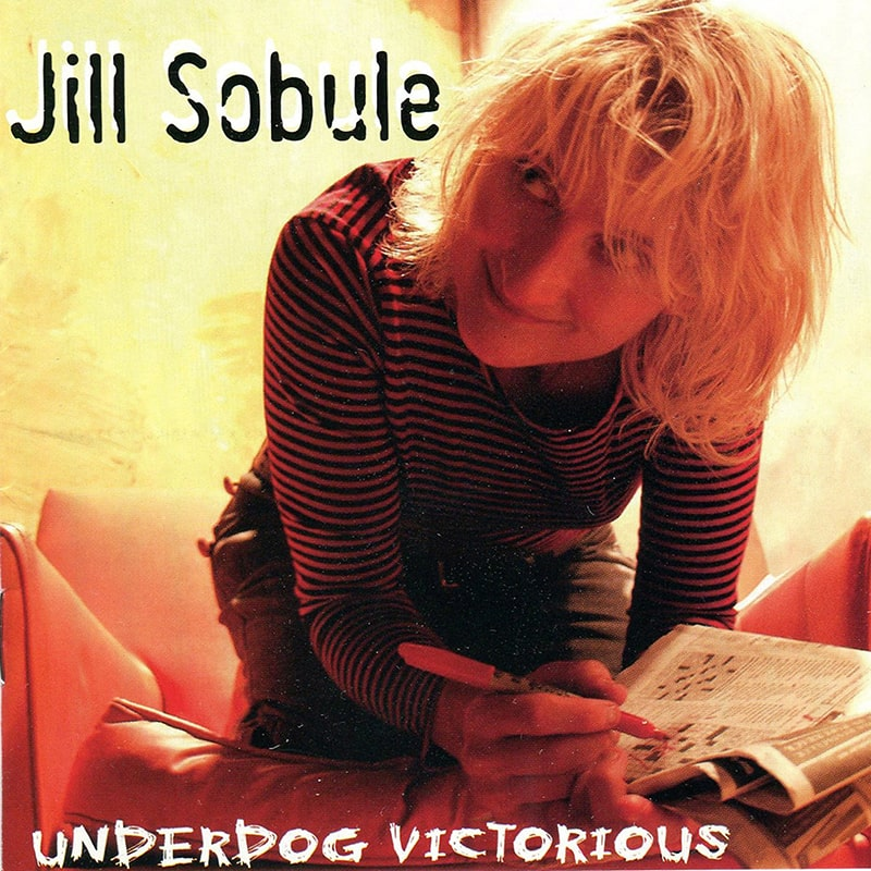 Jill Sobule - Underdog Victorious Album Cover - ECR Music Group, NYC